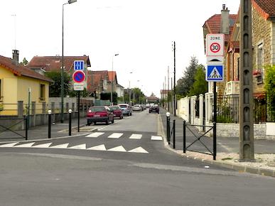 Stationnement réglementé et zones 30