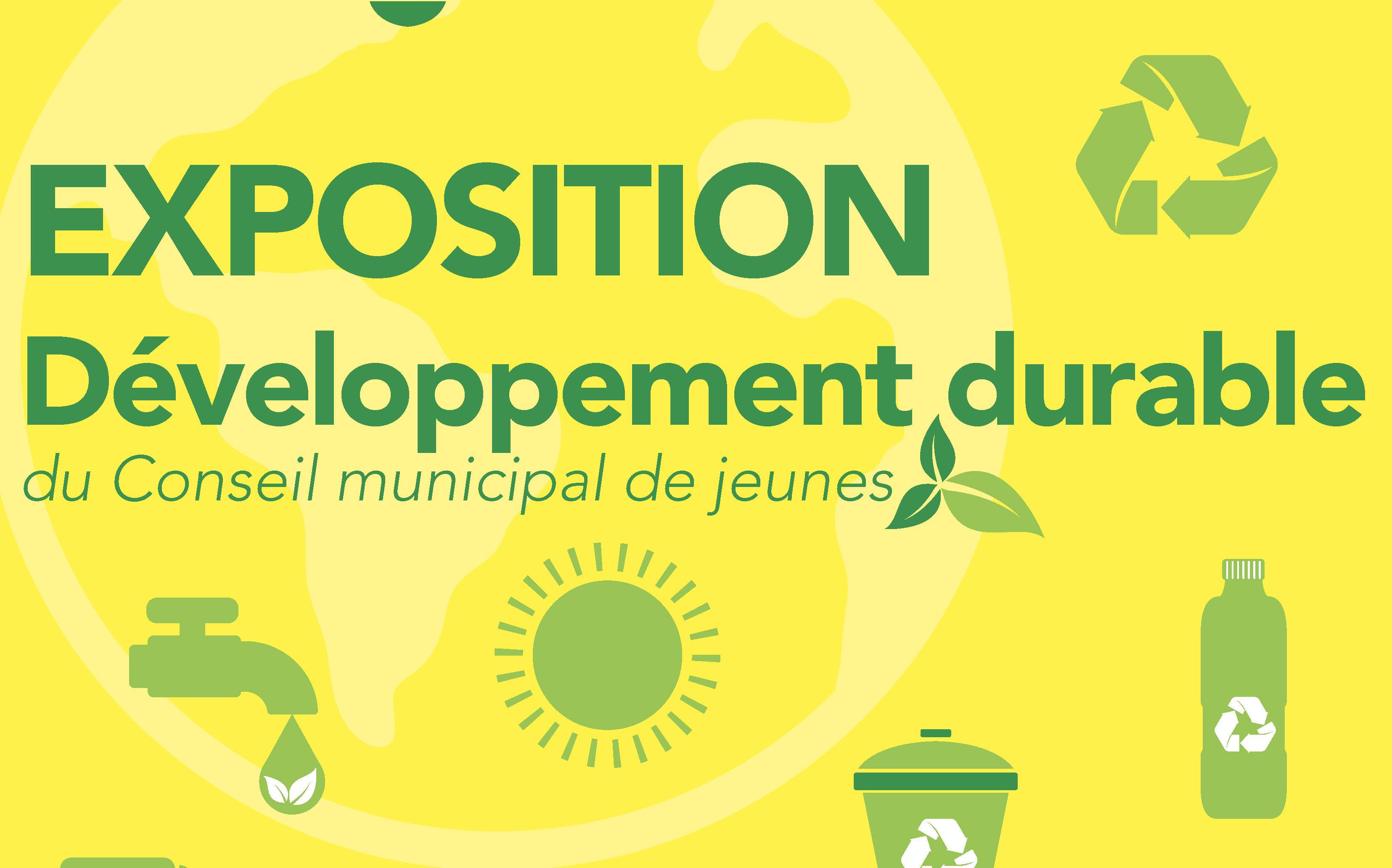 Exposition Développement durable du CMJ