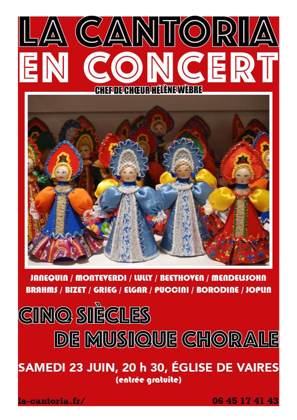Concert de La Cantoria