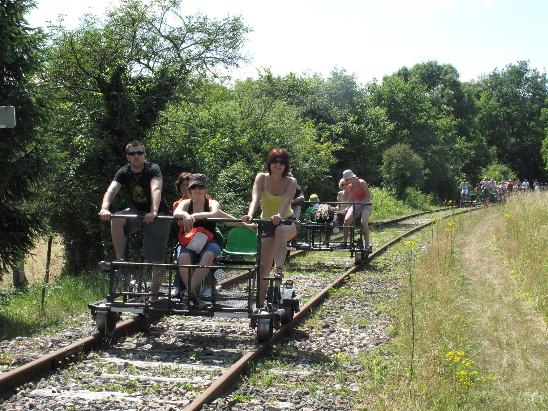 Sortie Vélo-rail de la Ferté-Gaucher