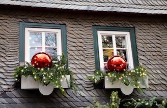 Concours des maisons et balcons décorés de Noël