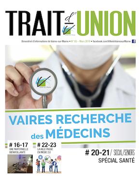 Trait d'union #85 - Mars 2019