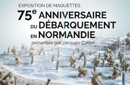 Exposition 75e anniversaire du débarquement en Normandie