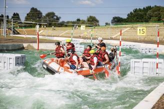 Testez le parcours olympique en rafting!