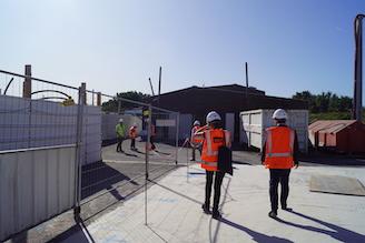 SNCF: Visite du chantier du futur site de maintenance