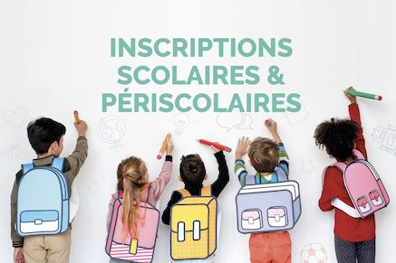 Rentrée 2021-2022: dossier unique d'inscriptions scolaires et périscolaires