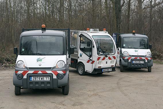 Développement du parc automobile électrique