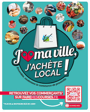 Nos commerçants locaux en ligne sur FaireMesCourses.fr!