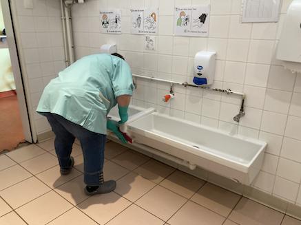 Protocole sanitaire renforcé dans les écoles communales