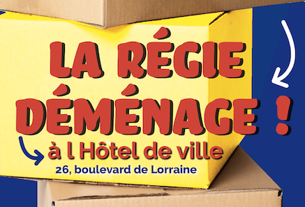La Régie déménage à l'hôtel de ville