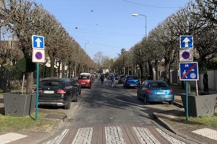 Travaux de voirie boulevard Constant-Melet