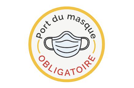 COVID-19: prolongation du port du masque obligatoire jusqu'au 30 juin 2021