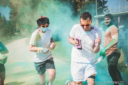 Une course haute en couleurs