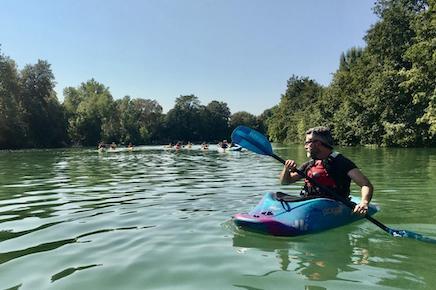 Un club de canoë kayak à Vaires