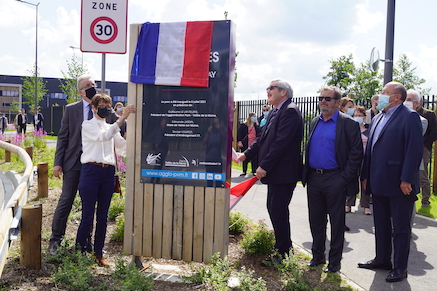 Inauguration de la ZAC du Gué de Launay