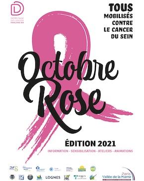 Octobre: vague Rose sur Paris-Vallée de la Marne