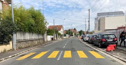La rue de Torcy sécurisée
