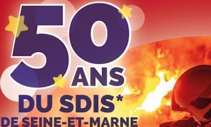 La caserne de Vaires célèbre les 50 ans du SDIS 77