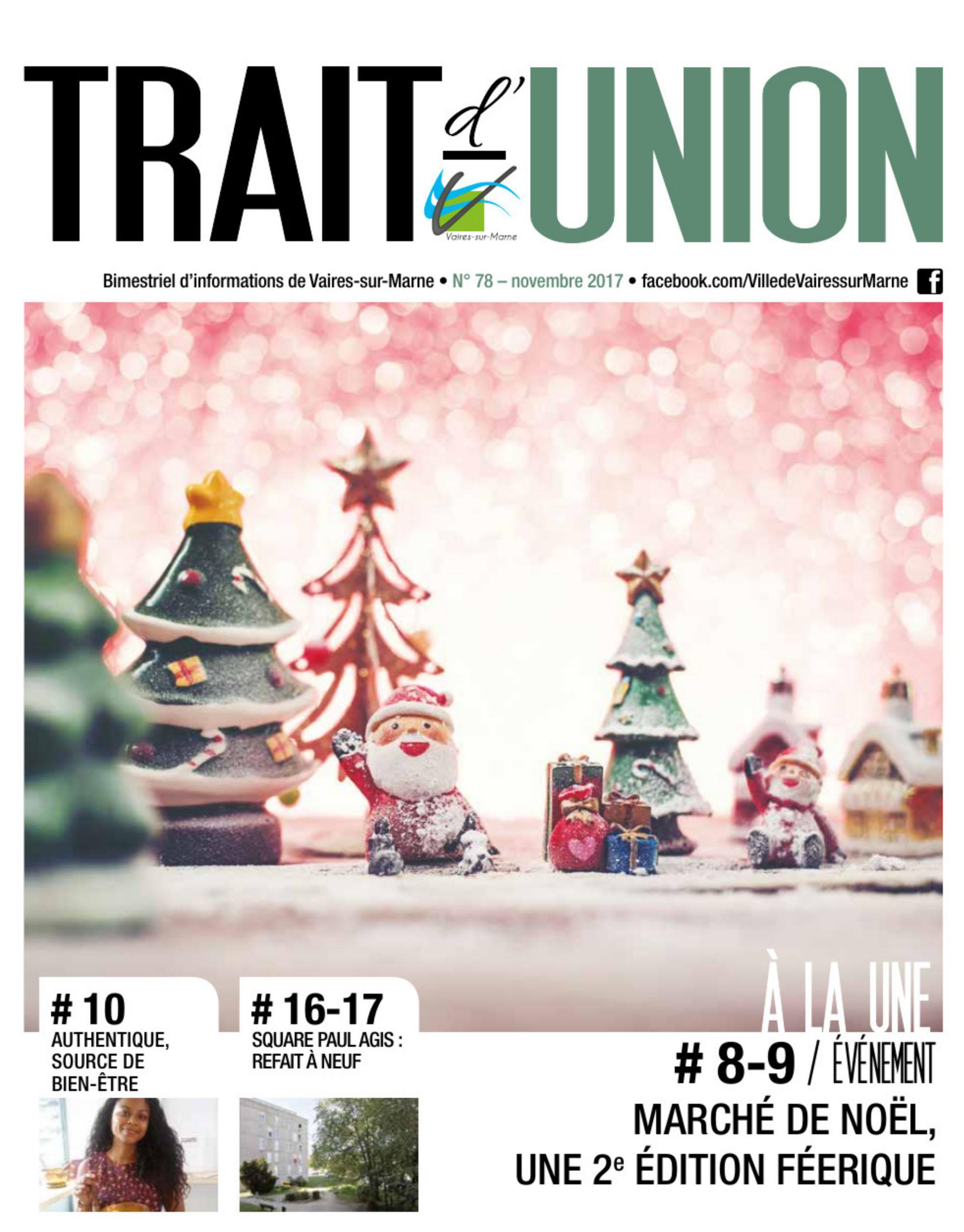 Trait d'Union N°78 - novembre 2017